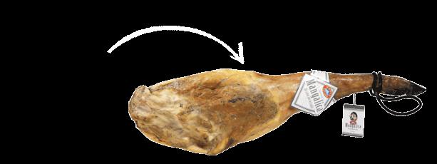 Mangalica met been en poot